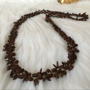 Vintage Mexican Seed Necklace